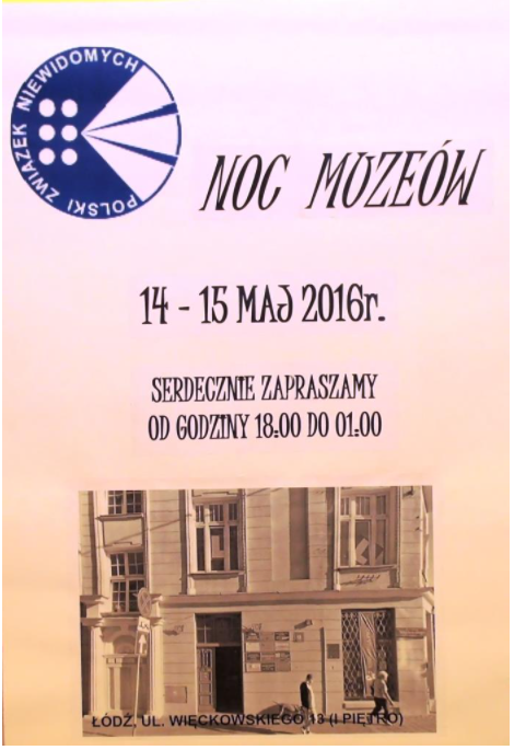 Noc Muzeów 2016 plakat