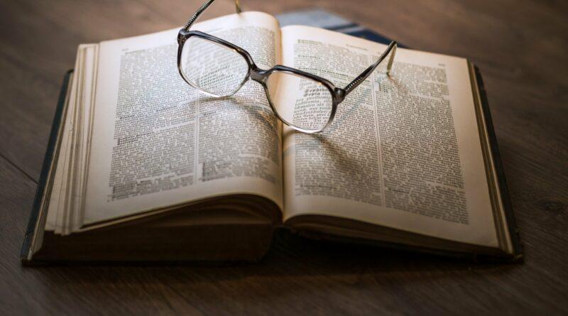 książka okulary